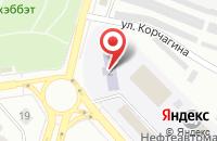 Схема проезда до компании Резон в Лениногорске