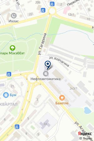 ЭКСПЕРТНАЯ ФИРМА ФЭТРОМ на карте Лениногорска