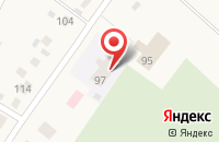 Схема проезда до компании Голчэчэк в Новом Надырово