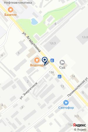 ТФ ПЛАМЯ на карте Лениногорска
