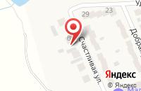 Схема проезда до компании Маленькая страна в Малой Шильне