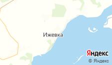 Отели города Ижевка на карте
