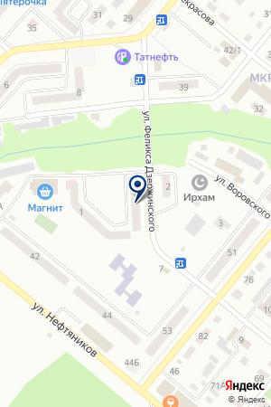 ДЕТСКИЙ САД № 38 на карте Бугульмы