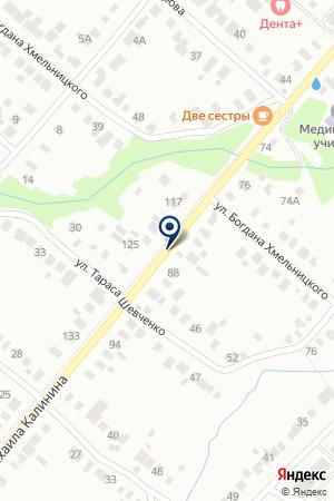 ШКОЛА СРЕДНЕГО ОБЩЕГО ОБРАЗОВАНИЯ № 12 на карте Бугульмы