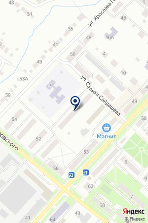 ЦЕНТР ВНЕШКОЛЬНОЙ РАБОТЫ РАДУГА на карте Бугульмы