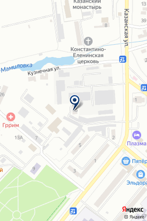 БУГУЛЬМИНСКИЙ ЛИКЕРОВОДОЧНЫЙ ЗАВОД на карте Бугульмы