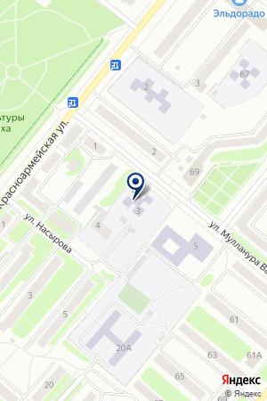 ДЕТСКАЯ МУЗЫКАЛЬНАЯ ШКОЛА на карте Бугульмы