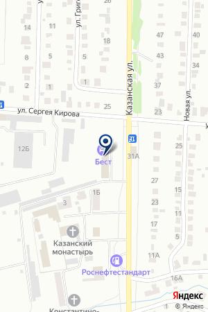 БУГУЛЬМИНСКОЕ ПАССАЖИРСКОЕ АТП на карте Бугульмы