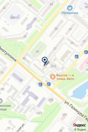 ЛДС-МАРКЕТ на карте Бугульмы