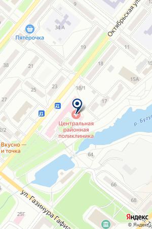 СТОМАТОЛОГИЧЕСКАЯ ПОЛИКЛИНИКА на карте Бугульмы