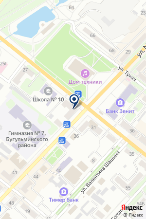 КАЗАНСКИЕ АПТЕКИ на карте Бугульмы