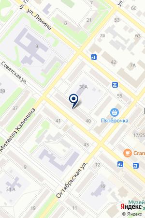 БУГУЛЬМИНСКОЕ ОТДЕЛЕНИЕ РОСТЕХИНВЕНТАРИЗАЦИЯ-ФЕДЕРАЛЬНОЕ БТИ на карте Бугульмы