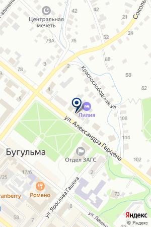 КРАЕВЕДЧЕСКИЙ МУЗЕЙ на карте Бугульмы