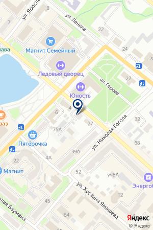МУЗЕЙ ЯРОСЛАВА ГАШЕКА на карте Бугульмы