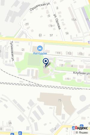 КЛУБ ИМ. 14-ПАВШИХ на карте Бугульмы