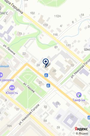 БУГУЛЬМИНСКИЕ ЭЛЕКТРИЧЕСКИЕ СЕТИ на карте Бугульмы