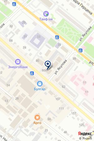 БУГУЛЬМИНСКАЯ СТАНЦИЯ ПЕРЕЛИВАНИЯ КРОВИ на карте Бугульмы