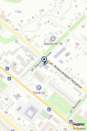 БУГУЛЬМИНСКИЙ МЕЖШКОЛЬНЫЙ УЧЕБНЫЙ КОМБИНАТ на карте Бугульмы