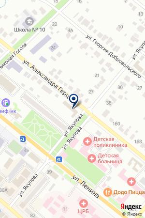 ДЮСШ № 1 на карте Бугульмы