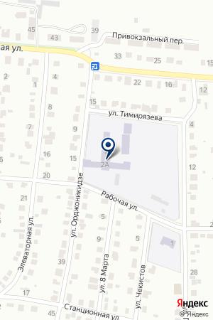 ШКОЛА СРЕДНЕГО ОБЩЕГО ОБРАЗОВАНИЯ № 18 на карте Бугульмы