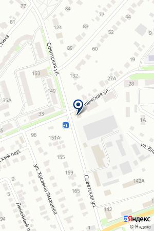 БУГУЛЬМИНСКИЙ МОЛОЧНЫЙ КОМБИНАТ на карте Бугульмы