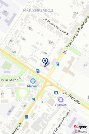 ЦЕРКОВЬ РОЖДЕСТВА ИОАННА ПРЕДТЕЧИ на карте Бугульмы