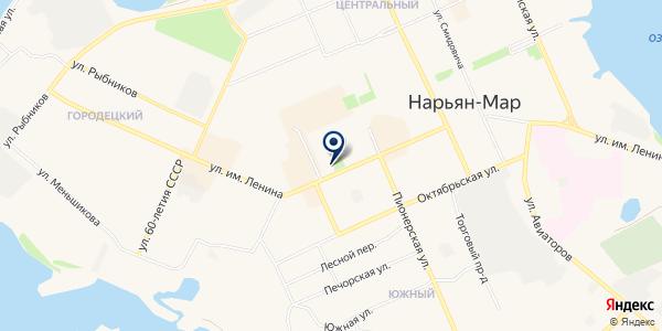 АССОЦИАЦИЯ МУНИЦАЛЬНЫХ ОБРАЗОВАНИЙ НАО на карте Нарьян-Маре