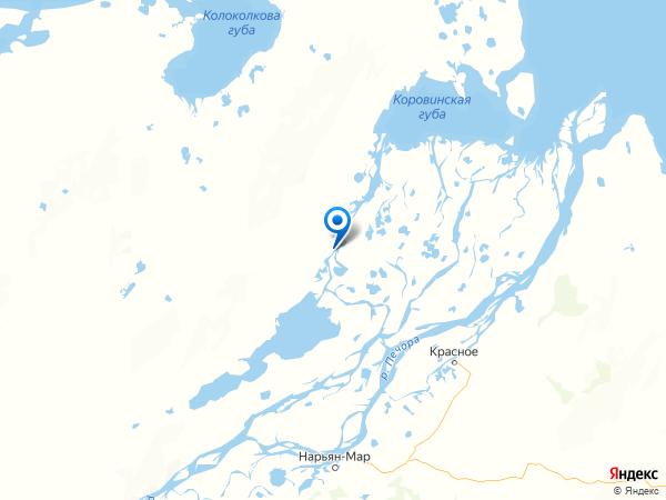 урочище Три–Бугры на карте