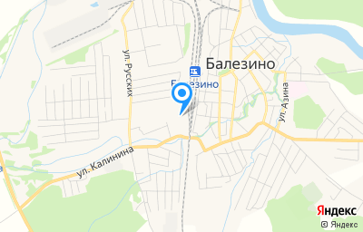 Местоположение на карте пункта техосмотра по адресу Респ Удмуртская, Балезинский р-н, п Балезино, ул Железнодорожная, зд 3А