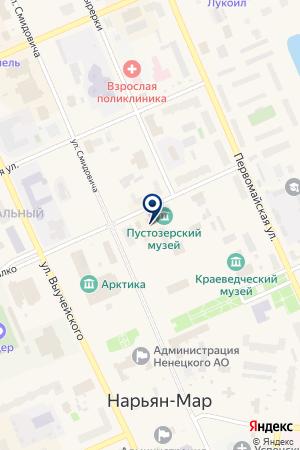 МАГАЗИН МОТОТОВАРОВ МОТОПИКНИК на карте Нарьян-Мара