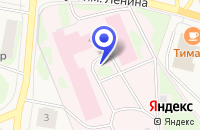 Схема проезда до компании ДЕТСКАЯ КОНСУЛЬТАЦИЯ в Нарьян-Маре