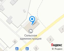 Схема местоположения почтового отделения 427144
