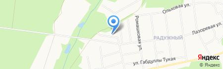 Кутузов на карте Ижевска