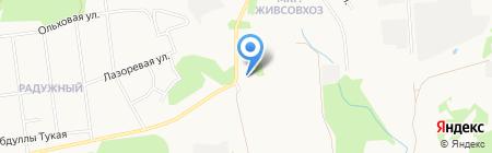 Бизнес-Мастер на карте Ижевска