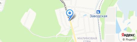 Радуга на карте Ижевска