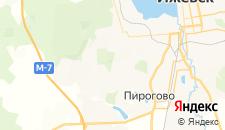 Гостиницы города Александрово на карте