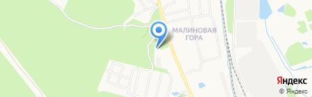 Завьяловолес на карте Ижевска