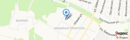 Аполлинария на карте Ижевска