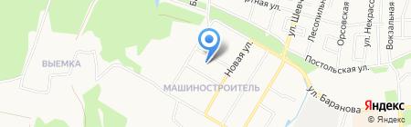 РоссГосСтрой на карте Ижевска