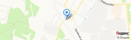 Стар на карте Ижевска