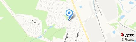 Детский сад №219 на карте Ижевска