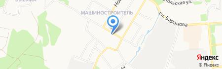 Фантазия на карте Ижевска