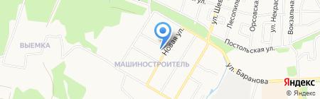 Средняя общеобразовательная школа №51 на карте Ижевска