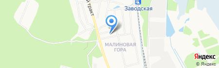 Фотография на Тверской на карте Ижевска