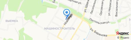 Промтовары на карте Ижевска