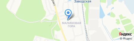 Детский сад №167 на карте Ижевска