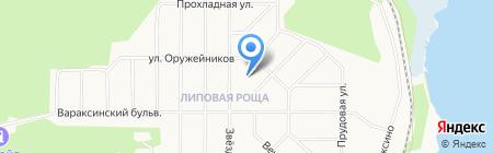 Храм святых Новомученников и Исповедников Российских на карте Ижевска