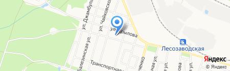 Детский сад №41 на карте Ижевска