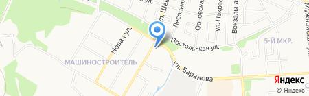 Центр профессиональной подготовки МВД по Удмуртской Республике на карте Ижевска