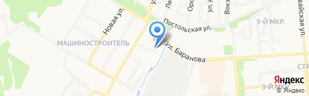 Аристов ключ 8 на карте Ижевска